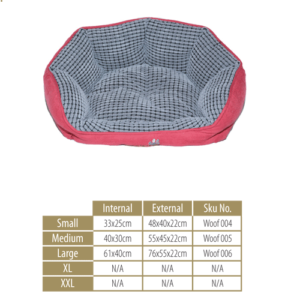 Woofers Dog Bed Range -Lagan Medium