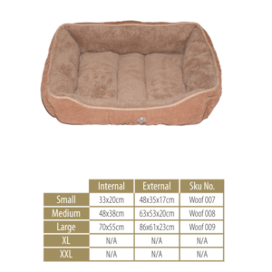 Woofers Dog Bed Range -Liffey Small