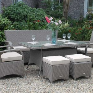 Casino Rattan Lounge Set