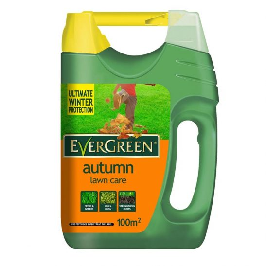 Evergreen Autumn Lawn Care - 100M2 Spreader