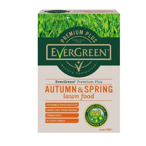 EverGreen Premium Plus Autumn & Spring Lawn Food 100m2