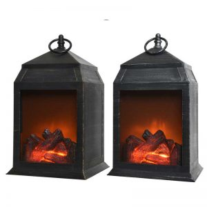 Lumineo LED Flame Lantern