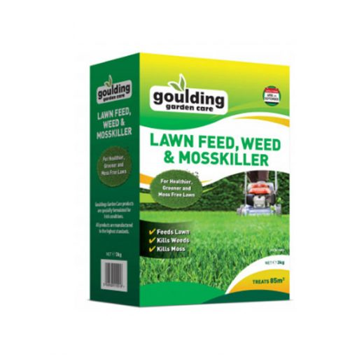 Goulding Lawn Feed Weed & Mosskiller 3kg