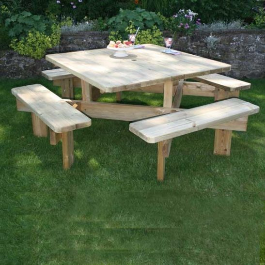 Dartmoor Commercial Picnic Table