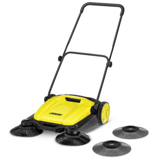 PUSH SWEEPER S 650 2 IN 1