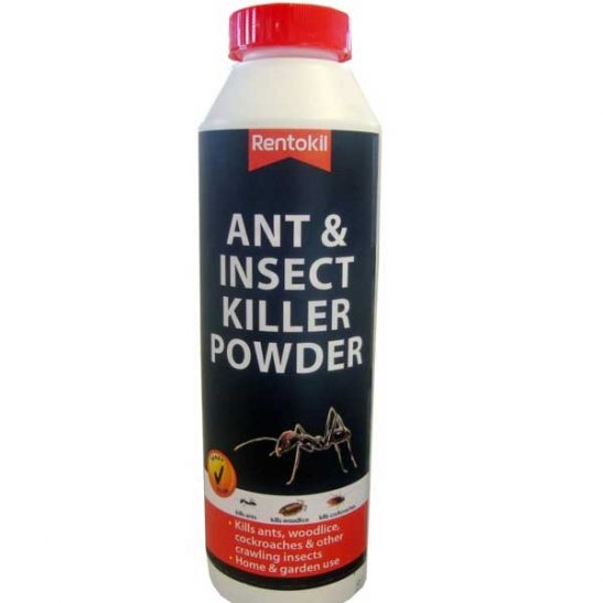 Rentokil Ant & Insect Killer Powder 300g is  general purpose insect powder for home and garden use Kills ants, cockroaches and woodlice Contains Permethrin