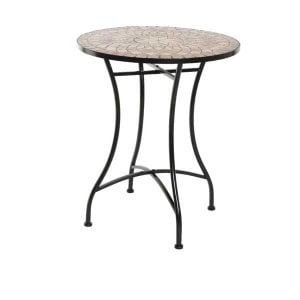 Andorra Orange Mosaic Bistro Set