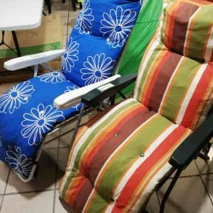 Padded Relaxer Sun Chair