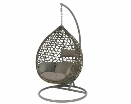 Montreal Hanging Chair-Grey