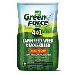 Greenforce 4 In 1 Lawn Feed, Weed & Mosskiller