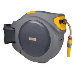 Hozelock Auto Reel Retractable Hose System With 40m Hose