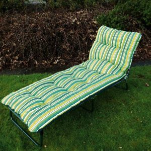 Padded Sunlounger
