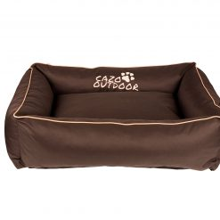 Cazo Maxy Dog Bed | Brown - Dog Nappers Dog Beds