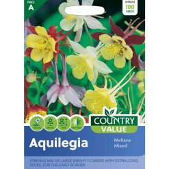 Aquilegia Mckana Mixed| Flower Seeds| Nationwide Delivery