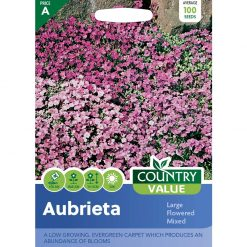 Aubrieta Large Flowered Mixed| Flower Seeds| Nationwide Delivery