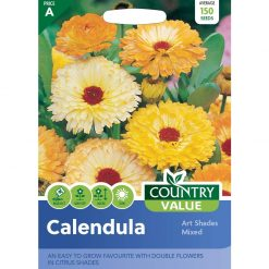 Calendula Art Shades Mixed| Flower Seeds| Nationwide Delivery
