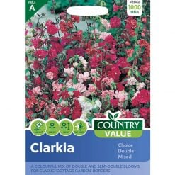 Clarkia Choice Double Mixed| Flower Seeds| Nationwide Delivery