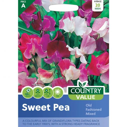 Sweet Pea Old Fashioned Mixed  Flower Seeds  Nationwide Delivery