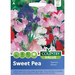 Sweet Pea Spencer Mixed| Flower Seeds| Nationwide Delivery