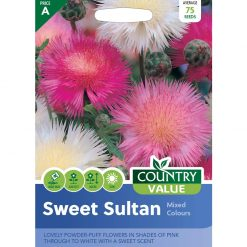Sweet Sultan Mixed Colours| Flower Seeds| Nationwide Delivery