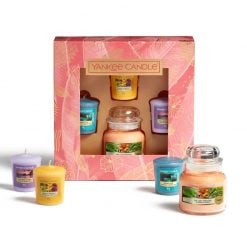 Yankee Candle  1 Small Jar + 3 Votive Set Set | 1630312E | Yankee Candle Delivery In Ireland