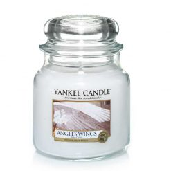 Yankee Candle Angel's Wings Medium Jar Candle | 1306396E | Yankee Candle Delivery In Ireland
