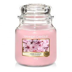 Yankee Candle Cherry Blossom Medium Jar Candle | 1542837E | Yankee Candle Delivery In Ireland