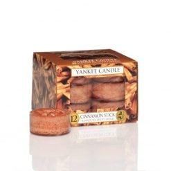 Yankee Candle Cinnamon Stick Tea Lights | 1055980E | Yankee Candle Delivery In Ireland