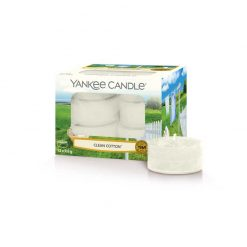 Yankee Candle Clean Cotton Tea Lights | 1016718E | Yankee Candle Delivery In Ireland