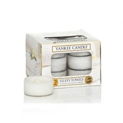 Yankee Candle Fluffy Towels Tea Lights | 1205384E | Yankee Candle Delivery In Ireland