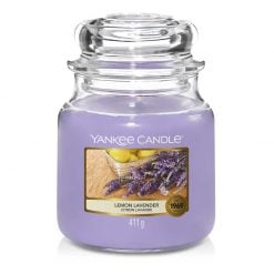 Yankee Candle Lemon Lavender Medium Jar Candle | 1073482E | Yankee Candle Delivery In Ireland