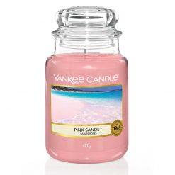 Yankee Candle Pink Sands Large Jar Candle | 1205337E | Yankee Candle Delivery In Ireland