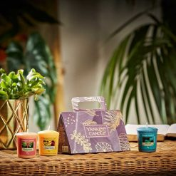 Yankee Candle The Last Paradise Collection 3 Votive Candle Gift Set | 1630306E | Yankee Candle Delivery In Ireland