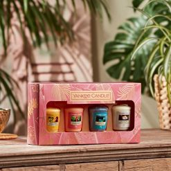Yankee Candle The Last Paradise Collection Four Votive Gift Set | 1630307E | Yankee Candle Delivery In Ireland