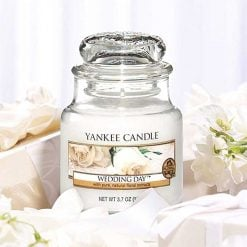 Yankee Candle Wedding Day Small Jar Candle | 138438E | Yankee Candle Delivery In Ireland