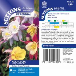 Antirrhinum Seeds - Pretty Bonnets Mix by Suttons Seeds| 102828| Nationwide Delivery On Flower Seeds