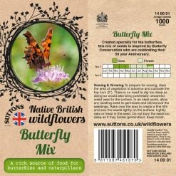 Butterfly Mix Seeds by Suttons Seeds| 140001| Nationwide Delivery On Flower Seeds