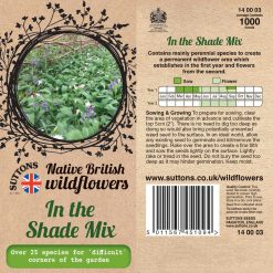 In The Shade Mix Seeds by Suttons Seeds| 140003| Nationwide Delivery On Flower Seeds