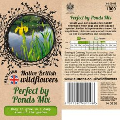 Perfect By Ponds Mix by Suttons Seeds| 140008| Nationwide Delivery On Flower Seeds