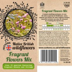 Fragrant Flowers Mix Seeds by Suttons Seeds| 140009| Nationwide Delivery On Flower Seeds