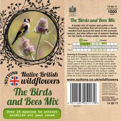 The Birds And Bees Mix Seeds by Suttons Seeds| 140011| Nationwide Delivery On Flower Seeds