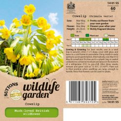 Cowslip Seeds by Suttons Seeds| 140155| Nationwide Delivery On Flower Seeds