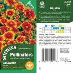 Seeds For Pollinators - Goblin by Suttons Seeds| 142012| Nationwide Delivery On Flower Seeds