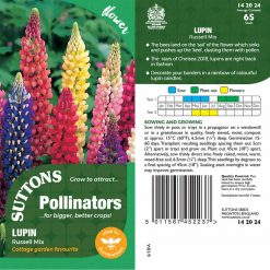 Seeds For Pollinators - Russel Mix by Suttons Seeds| 142024| Nationwide Delivery On Flower Seeds
