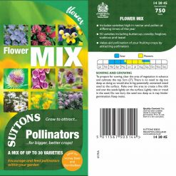 Pollinator Mix Seeds - Flowers by Suttons Seeds| 142045| Nationwide Delivery On Flower Seeds
