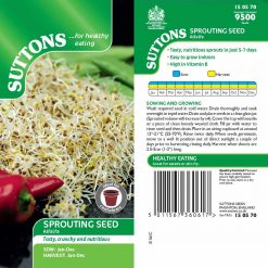 Alfalfa by Suttons Seeds| 150570| Nationwide Delivery