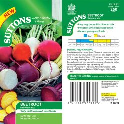 Beetroot Rainbow Mix by Suttons Seeds| 151822| Nationwide Delivery
