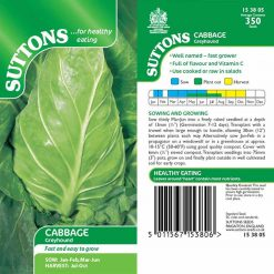 Cabbage Greyhound by Suttons Seeds| 153805| Nationwide Delivery