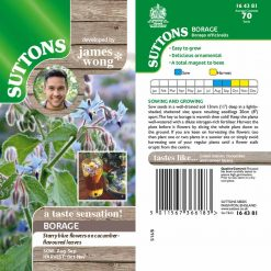 Borage by Suttons Seeds| 164381| Nationwide Delivery