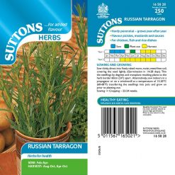 Tarragon Russian by Suttons Seeds  165028  Nationwide Delivery